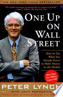 One Up On Wall Street Free epub Download